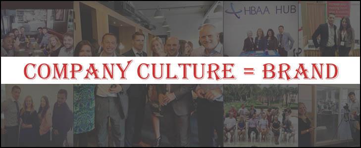 Company Culture = Brand